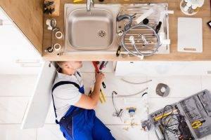 Plumber Kitchen Sink New Tap