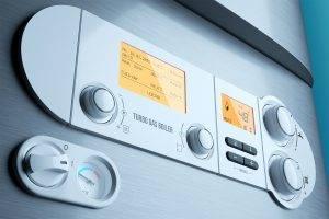 Boiler Control Panel Close Up