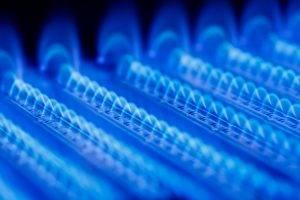 Clean Blue Flame Gas Boiler Heating