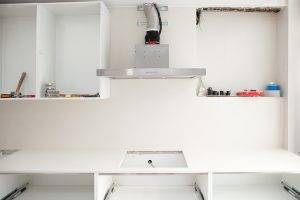 Construction Of A Kitchen