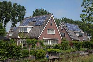 Family Building With Solar Panels