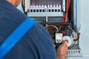 Repair Of A Gas Boiler Setting Up And Servicing